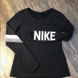 Long sleeve Nike Dri-fit.